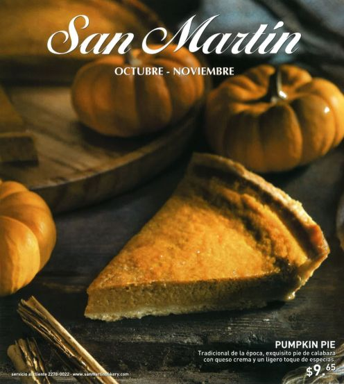 traditional PUMPKIN PIE desert especiality bakery