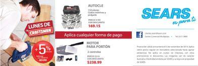 AUTOCLE cubos metricos y pulgada CRAFTSMAN - 03nov14