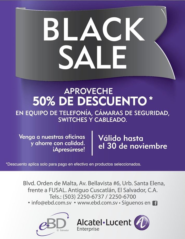 BLACK SALE network telephony technology - 10nov14