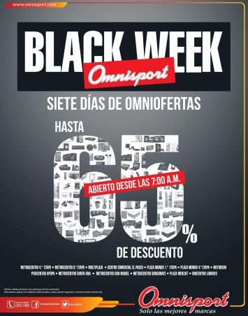 BLACK WEEK siete dias de omniofertas - 24nov14
