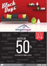 BLACK days sale FINDE MEGA HOGAR - 29nov14
