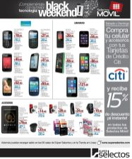 BLACK weekend offers MOVILES seelctos - 28nov14