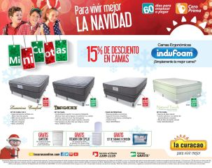 Escoge tu mejor descanso con camas INDUFOAM promociones - 22nov14