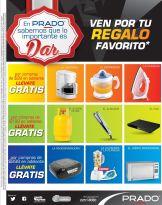 FIN DE SEMANA regalos PRaDO promociones - 08nov14