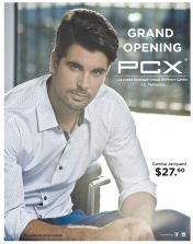 GRAND opening PCX shirt for genteman - 27nov14