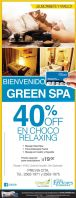 GREEN SPA promotionsv