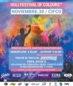 HOLI FESTIVAL of COLORS 2014 san salvador