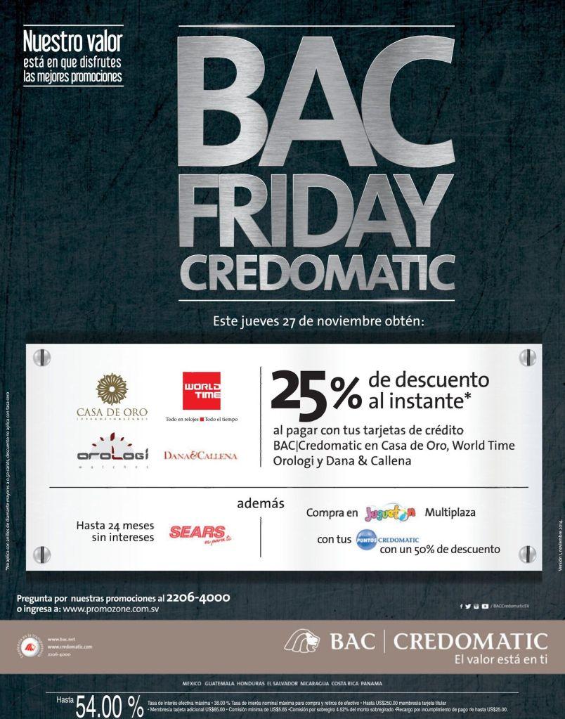 Jewelry FRIDAY BAC discounts - 27nov14