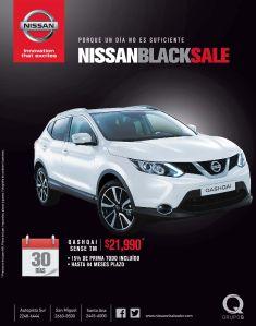NISSAN QASHQAI sense TM black sale 2014