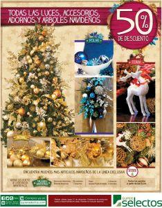 Navidad 50 off en adornos luces y arbolitos - 27nov14