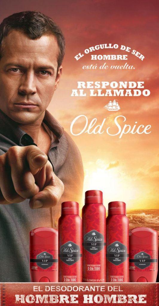 OLD SPICE desodorante del HOMBRE HOMBRE