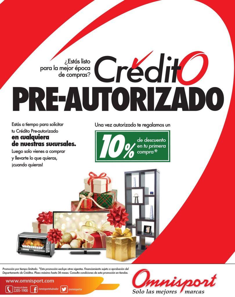OMNISPORT preparate para november sale CREDTIO pre aprobado - 05nov14