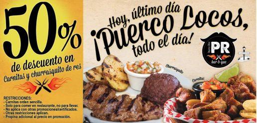PUERCO RICO puerco loco discounts - 28nov14