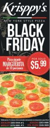 Pizzeria KRISPPYS black friday offer - 27nov14