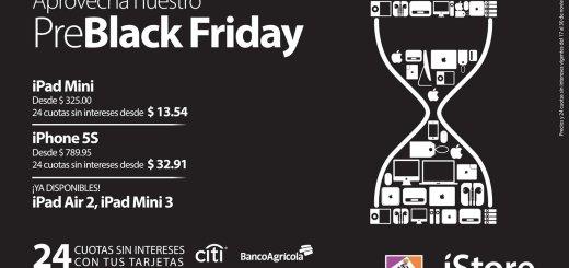 Pre BLACK FRIDAY apple iStore promotions - 18nov14