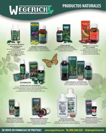 Protector del higado medicina natural WEGERICHNAT - 10nov14