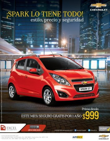 SPARK chevrolet 2015 style quality and security