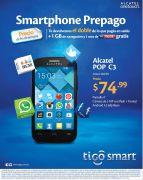 TIGO whatsapp gratis con tu smartphone ALCATEL - 07nov14
