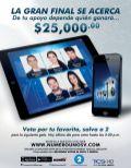 VOTA para la gran final NUMERO UNO - 20nov14
