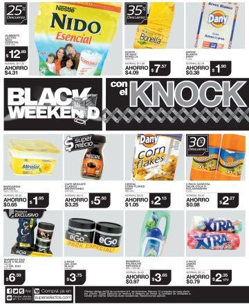 WOW excelente promociones KNOCK OUT de precios BLACK - 29nov14