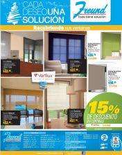 Windows decorate VERTILIX blinds and swades - 14nov14