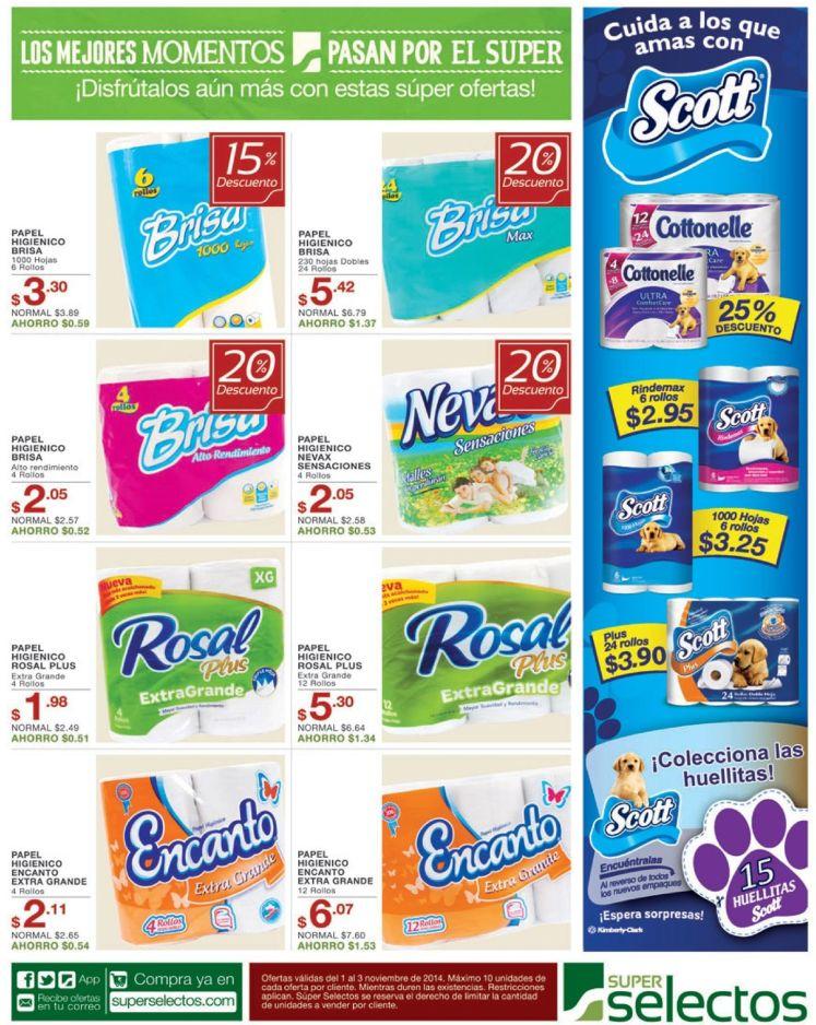 calidad y delicadeza en tus productos higienicos - 01nov14