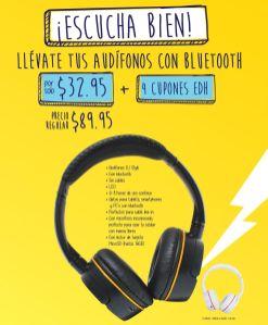 escucha bien AUDIFONOS CON BLUETOOTH con cupones EDH - 04nov14