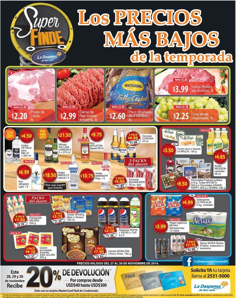 new Super FINDE Despensa de Don Juan - 27nov14
