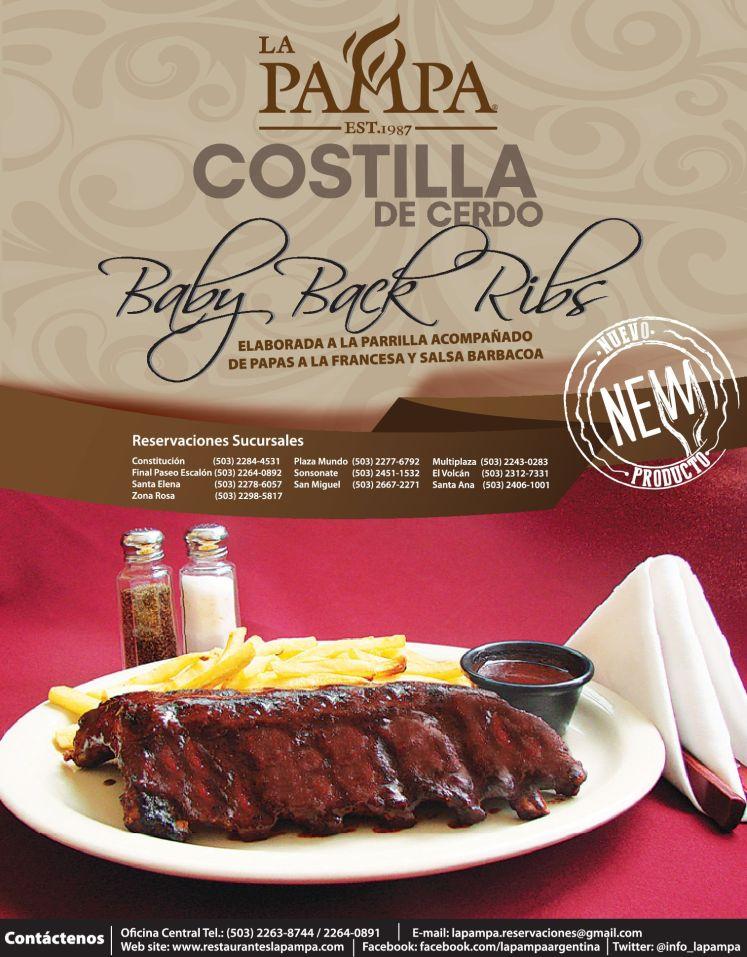 new baby back ribs costilla de cerdo - 15nov14