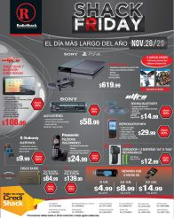 promociones SHACK FRDAY video games and more - 28nov14