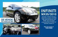 sale car INFITINI MX 35 2010 sedan
