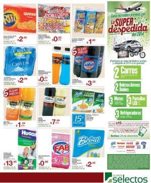 variedad de bebidas y snacks OFERTA del supermercado - 18nov14