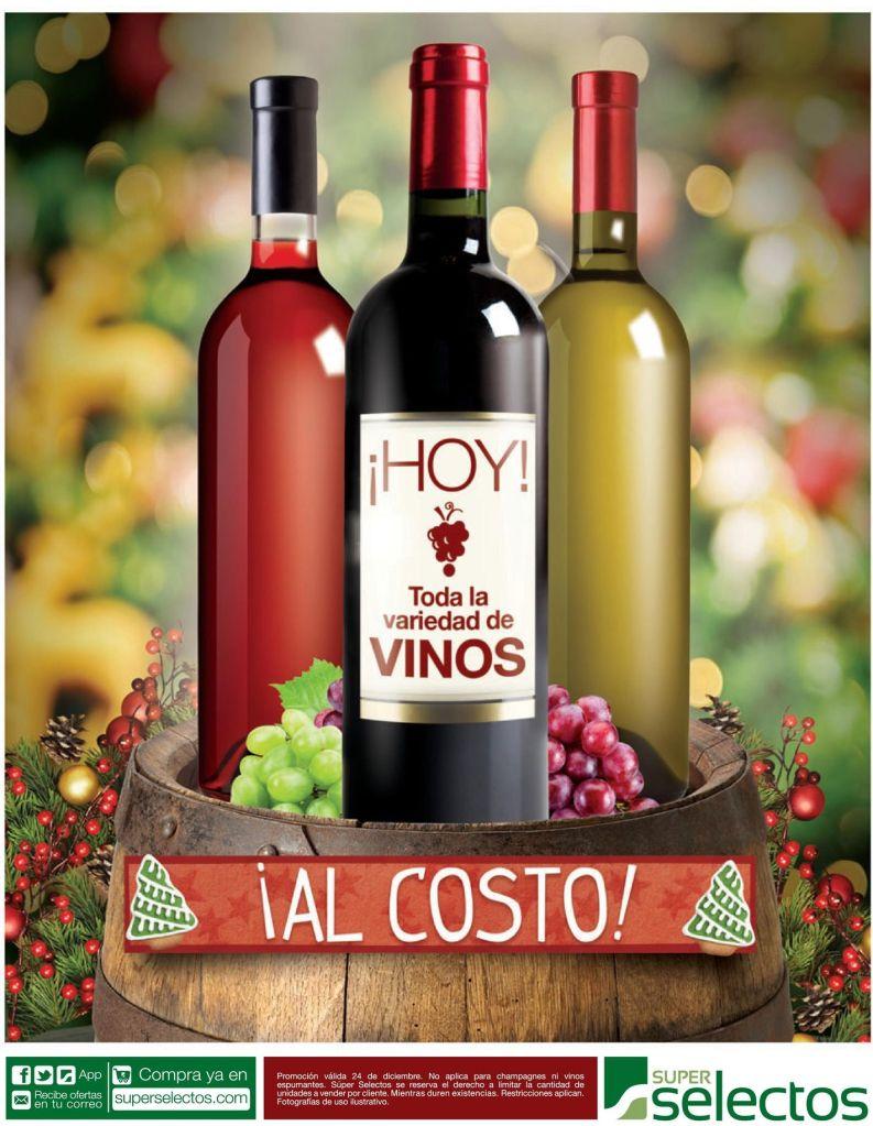 AL COSTO brindemos con vino en estas fiestas de navidad - 24dic14