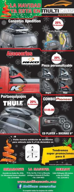 CAR accesories racing and charge - 03dic14