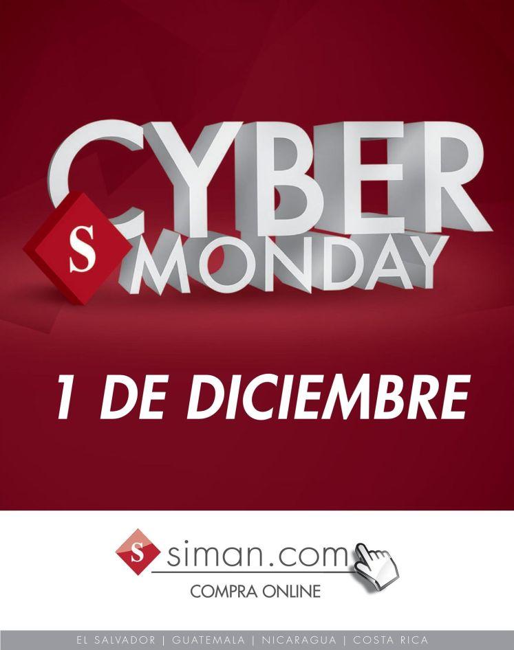 CYBER MONDAY almacenes siman ofertas online - 01dic14