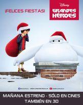Disney BIG HERO estreno de navidad