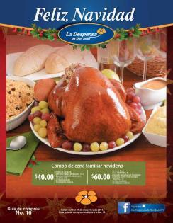 Feliz Navidad 2014 catalogo La despensa de Don Juan
