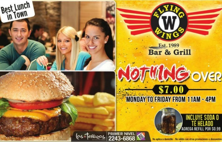 Flying Wings BAR and GRILL restaurant multiplaza
