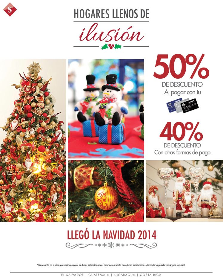 LLego diciembre apresurate a decorar - 01dic14