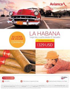 Ofertas boletos aereos a LA HABANA cuba via avianca - 18dic14