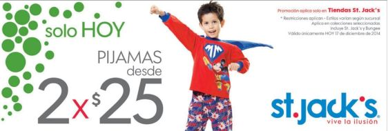 Pijamas promotion for KIDS - 17dic14