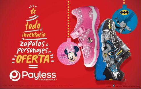 Productos en ofertas PAYLESS - 19dic14