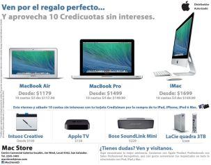 Regalos MAC store apple en navidad