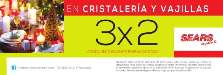 SEARS promocion es cristaleria y vajillas - 11dic14