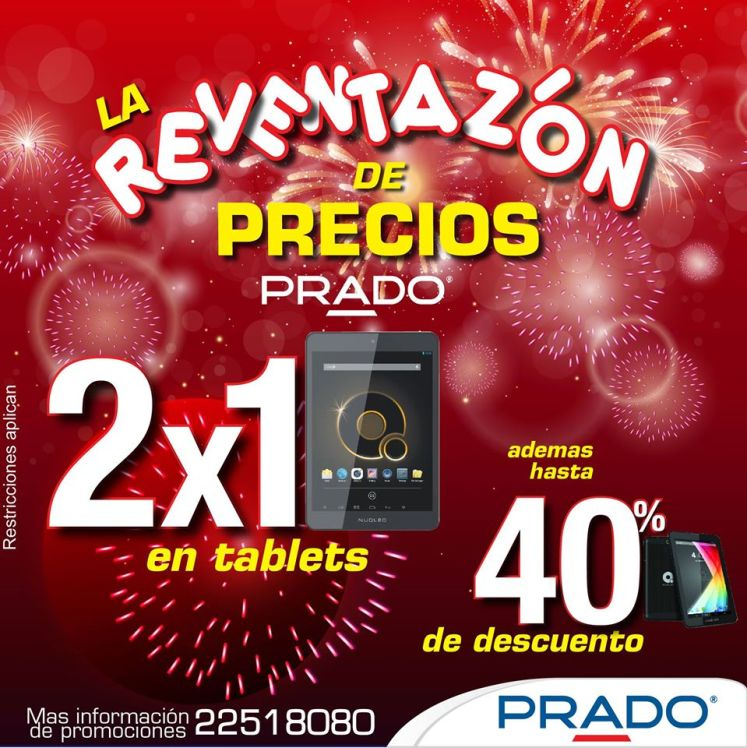 TABLET 2x1 promocion PRADO - 30dic14