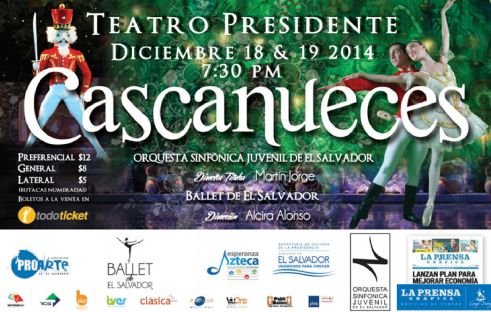 Teatro presidente presenta EL CASCANUECES 2014