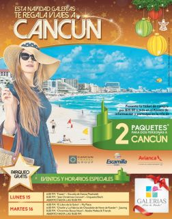WIN cancun trip travel vacation