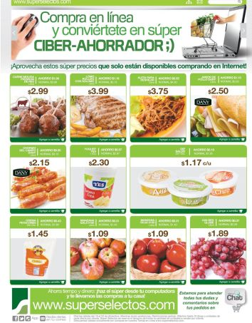cyber online savings SUPER SELECTOS - 19dic14