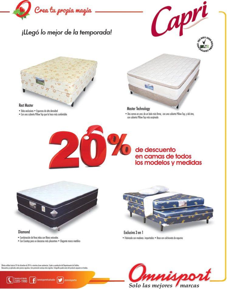 descuent para comprar camas en navidad - 13dic14