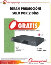 gran promocion OMNISPORT DVD gratis
